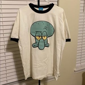 Squidward Sponge Bob Squarepants shirt
